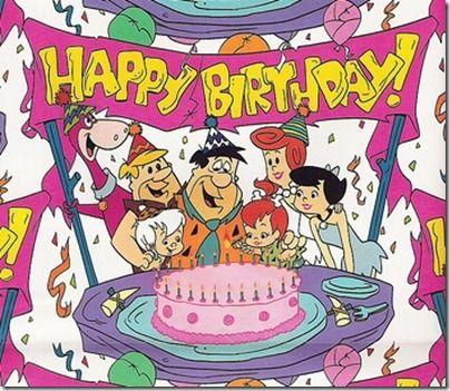 Happy Birthday Flintstones Photos Scenery Birthday Cartoon Happy Birthday Birthday