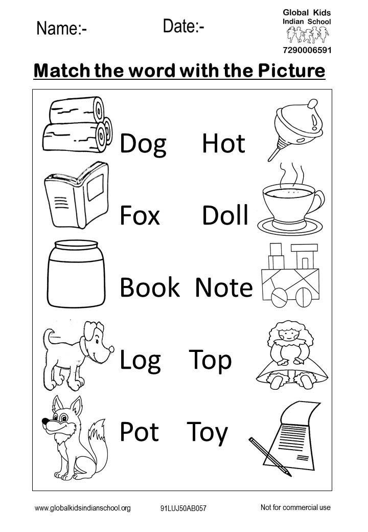 Kindergarten Worksheet Global Kids Fun Worksheets For Kids English Worksheets For Kindergarten Learning English For Kids Kindergarten english learning worksheets