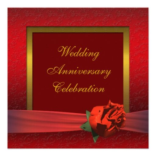 645 best 40th Anniversary Party Invitations images – Party Invitation Sites