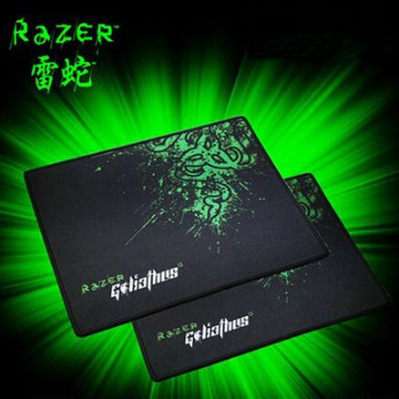 Promotion Razer Goliathus Gaming Mouse Pad 300*250*2 Locking Edge Mouse Mat Speed/Control Version For Dota2 Diablo 3 CS Mousepad#gaming mouse pad#Consumer Electronics