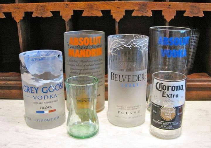Turn your beer bottles into glass cups! (5 easy steps) more ......