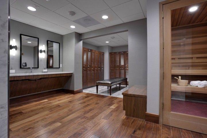 health club locker room design | Sonic Automotive – Spa, locker ...