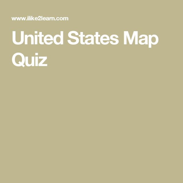 Best Map Quiz Ideas On Pinterest Geography Map Quiz - Us map quiz type states