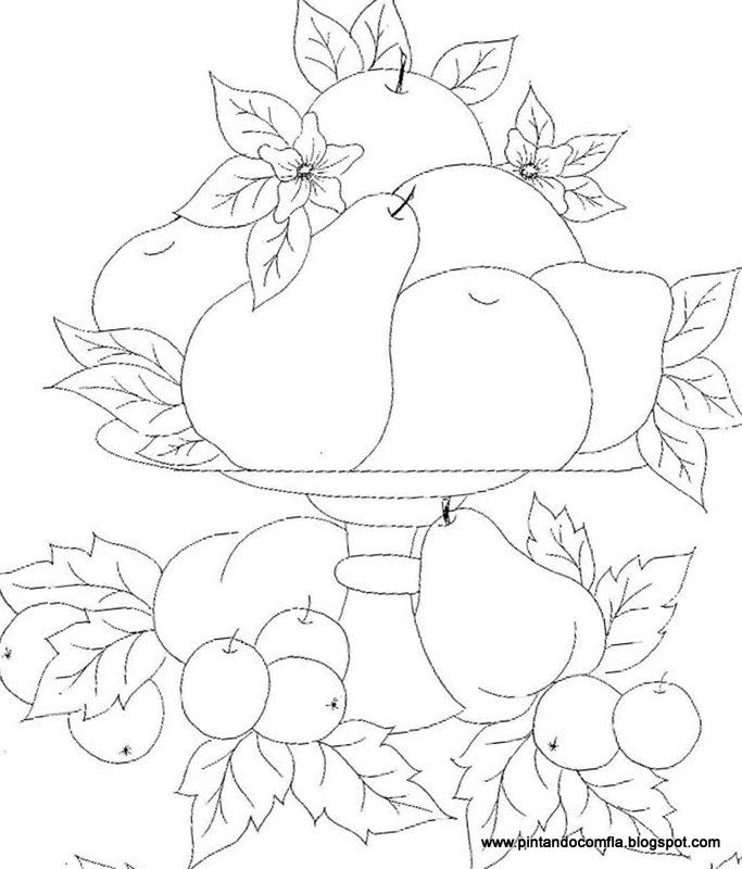 PintandocomFlá: Frutas...