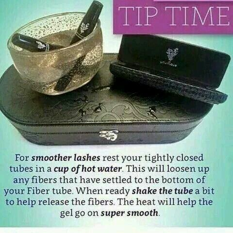 Try this out when you get towards the end of your mascara and its starting to dry out.