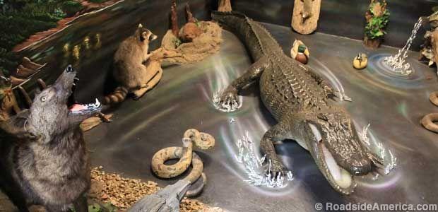 Perils of the swamp. Louisiana State Penitentiary Museum