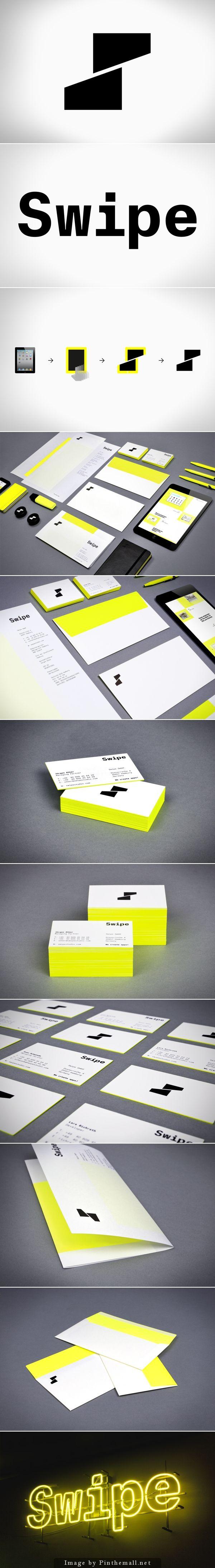 Swipe branding on Behance