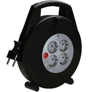 Brennenstuhl Vario Line Kabelbox - 4-voudig met 10m Aansluitkabel  4 Contacten (geaard) - Schokbestendige behuizing - Kabellengte: 10 m -  EUR 20.99  Meer informatie  http://ift.tt/2cJjC9c