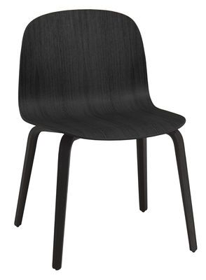 Chaise Visu Large / Bois Noir - Muuto - Décoration et mobilier design avec Made in Design