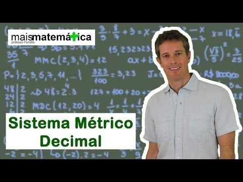 Matemática Básica - Aula 30 - Sistema Métrico Decimal - YouTube