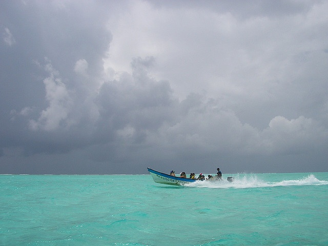 San Andres Colombia.  I want to see water like that.  I want it!