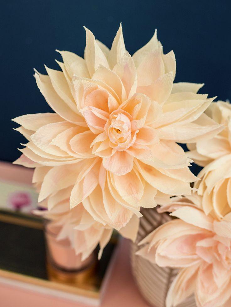 les 570 meilleures images du tableau paper flowers sur pinterest