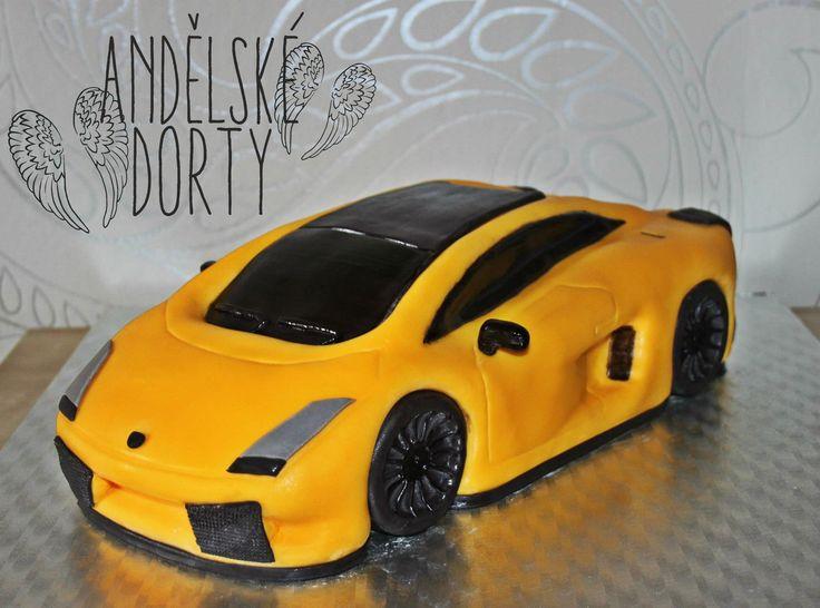 Delicieux Lamborghini Cake