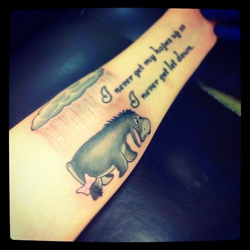 Tattoo Ideas About Depression: 21 Best Eeyore Tattoos Images On Pinterest