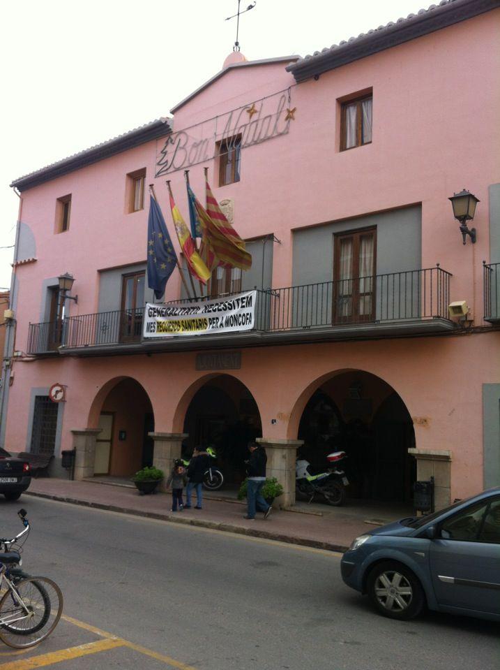 Ajuntament de Moncofa en Moncofar, Valencia