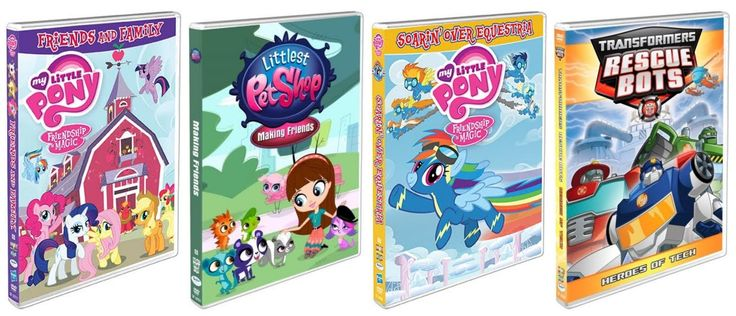 Susan's Disney Family: Summer TV Round-up featuring: My Little Pony, Littlest Pet Shop, Transformers DVDs from Shout! Kids and Hasbro Studios! #Giveaway