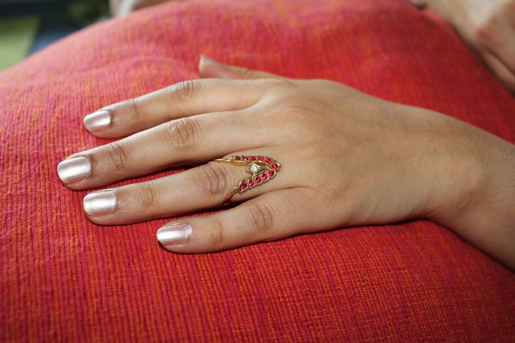 """""""nelli"""" the traditional south indian ring. Indian jewellery."""