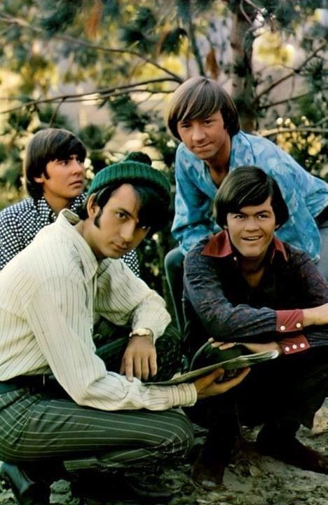 The Monkees--they had a TV show I watched after school--I think it was on Thursday; dorky show.  Actually really good music.