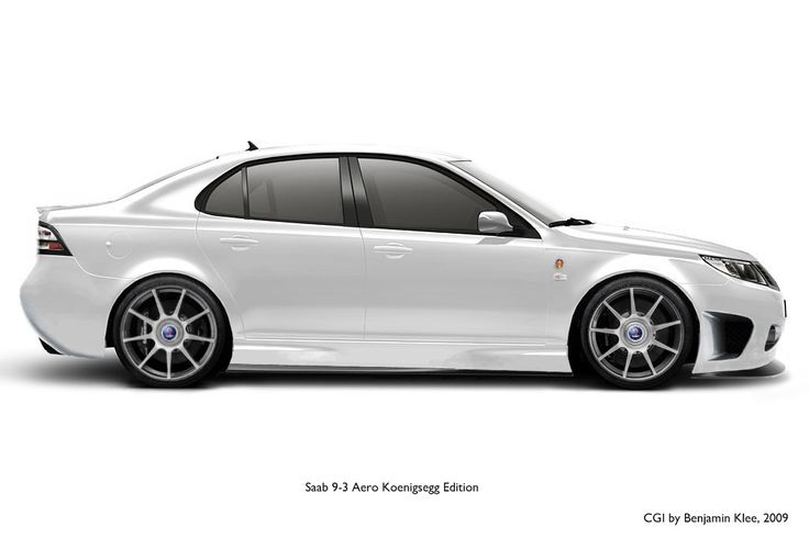 VWVortex.com - Saab 9-3 Aero Koenigsegg Edition rendered