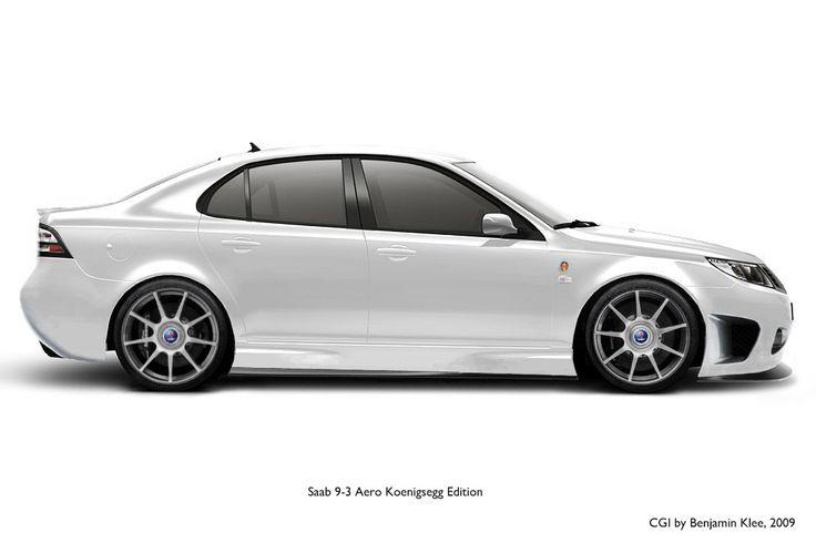 VWVortex.com - Saab 9-3 Aero Koenigsegg Edition rendered