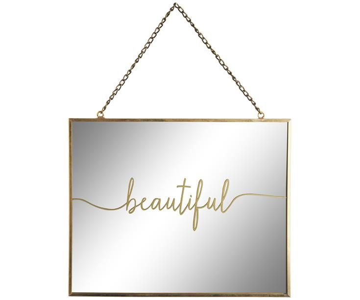 Bonvagon - Ev Aksesuarları - Beautiful' Bakır Ayna