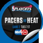 Indiana Pacers vs. Miami Heat #2