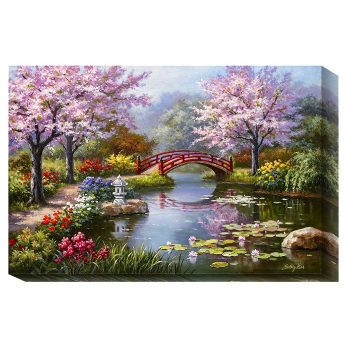 Japanese Garden in Bloom