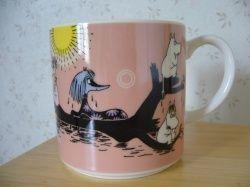 "Muumimuki ""Water mug"" -sarja (vaaleanpunainen) Yamaka"
