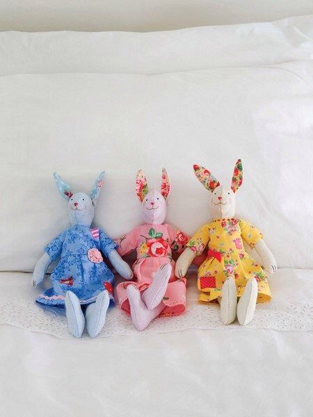 249 best stuffies images on pinterest softies artists and baby sugar bunnies sewing pattern by stitchcraftcreate on etsy httpsetsy negle Image collections