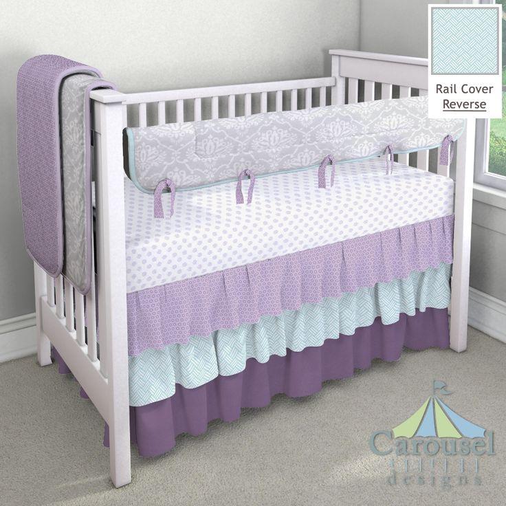 Best 25 Purple Crib Bedding Ideas On Pinterest Purple