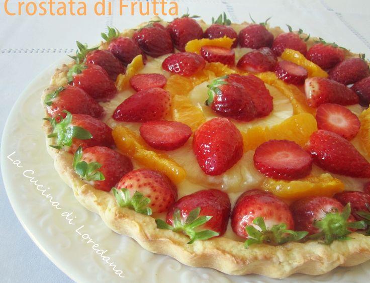 Crostata di Frutta - Ricetta Primavera