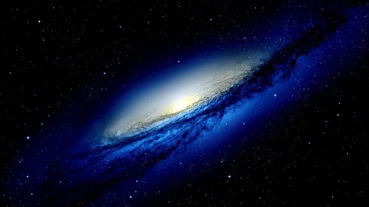 1920x1080 Обои галактика, круг, туманность, вихрь, звезды
