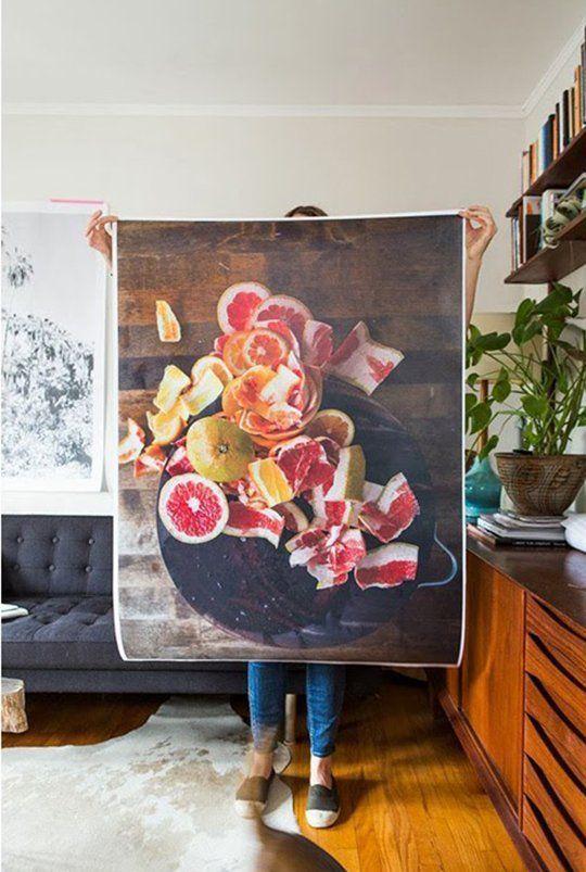 """""""Citrus"""" Color Poster by Laure Joliet"""