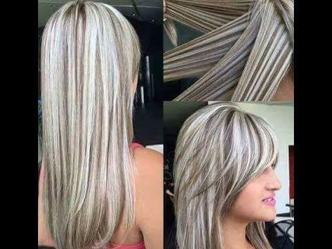 ازاي تعملي هاي لايت ثري دي Youtube Long Hair Styles Silver Hair Hair Styles