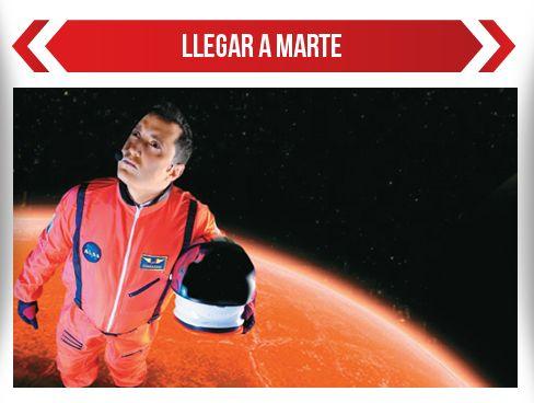 Llegar a Marte, lo nuevo de Andrés López
