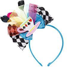 MAD TEA PARTY DELUXE HEADBAND ~ Birthday Party Supplies Alice in Wonderland Pink in Home & Garden, Greeting Cards & Party Supply, Party Supplies, Attire | eBay