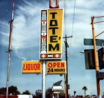 utotem sign in 1979 northwest corner of price and apache tempe arizona a convenience store. Black Bedroom Furniture Sets. Home Design Ideas
