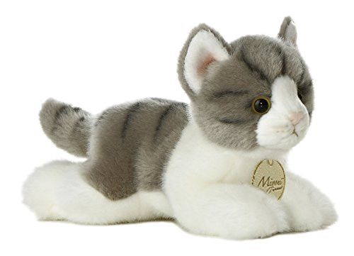 Aurora World Miyoni Grey Tabby Cat Plush 8