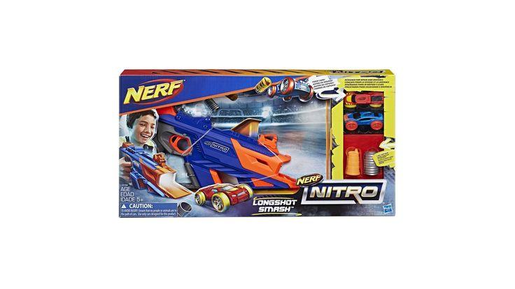 Win een NERF Nitro Longshot Smash set