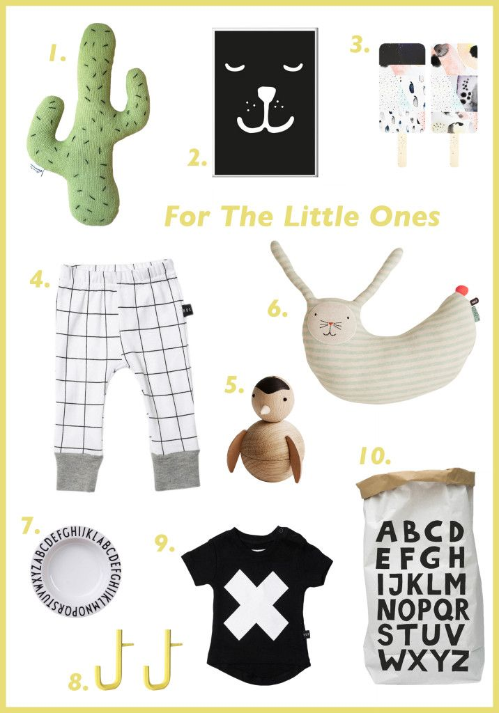 Our Christmas gift guide today, focuses on the little ones, your kids, their kids, big and small kids.