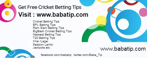 Get Free Cricket Betting Tips of all Cricket Matches by our betting tips experts.Subscribe and get tips & guide on how to win online cricket betting world. Get Free Cricket Betting Tips of T20 BigBash 2017-18 League #cricket #betting #tips #t20 #cricketbettingtips #t20bettingtips #onlinecricketbettingtips #bigbash #big #bash #bigbashbettingtips #bigbashbetting #bigbashcricketbettingtips