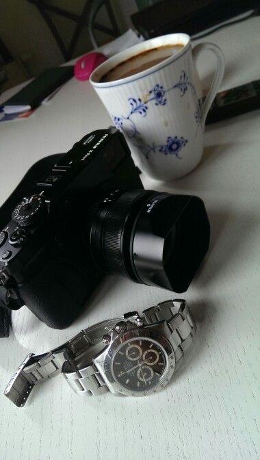 My latest camera Fuji x pro 1 Fuji x pro brings joy back to photo. My Nikon D3S takes a rest. #watchblogdk #nikkor #nikond3s #fujixpro