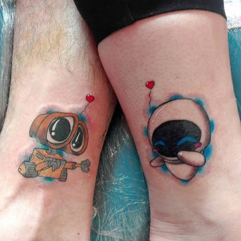 447 best tattoo ideas images on pinterest tattoo ideas floral tattoos and flower tattoos for Wall e tattoo