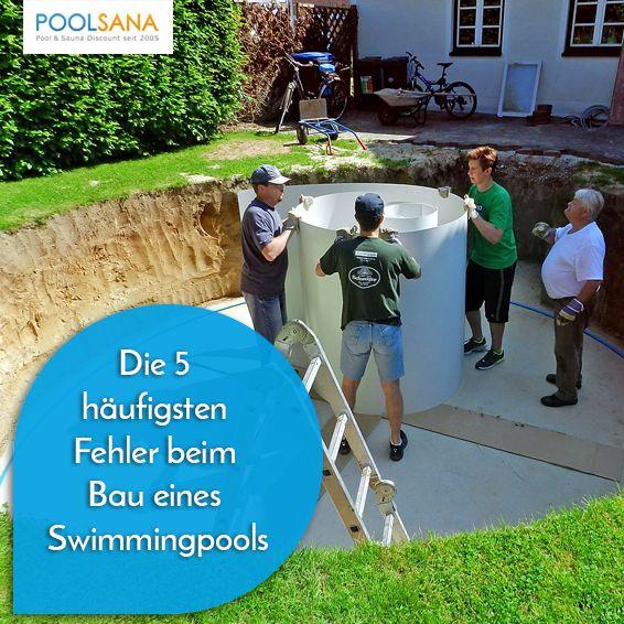 Poolgestaltung Garten: Die 5 Häufigsten Fehler Beim Bau Eines Swimmingpools In