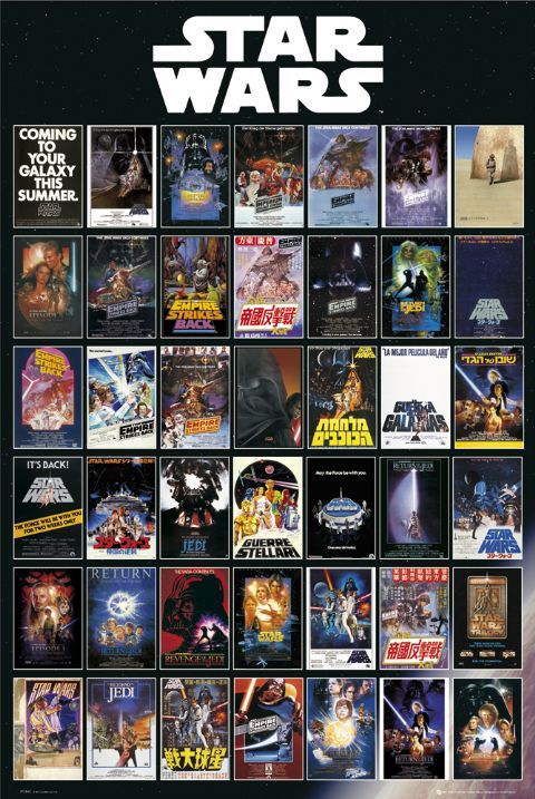 10 best star wars movie posters images on pinterest | star wars