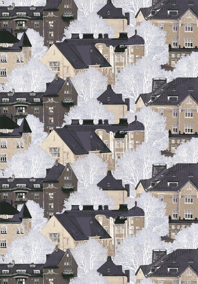 Kattojen yllä colour3 by Riina Kuikka