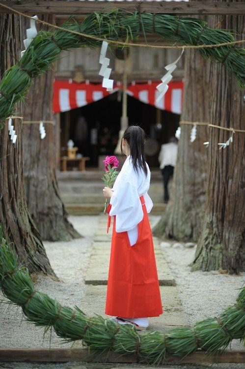 「茅の輪潜り(ちのわくぐり)」 #Chinowa-kiguri