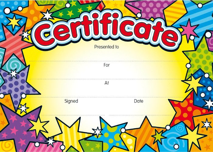 childrens certificate  12 best Primary Certificates images on Pinterest | Certificate ...