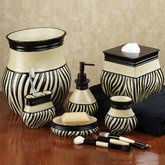 Zuma Zebra Bathroom Accessories