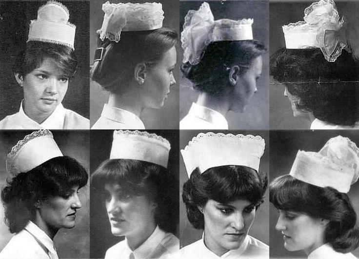 Nurses' caps since the 1980s